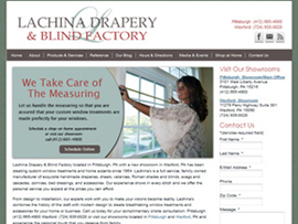 Lachina Drapery Blind Factory Pittsburgh Wexford