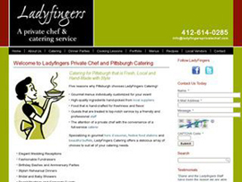 Ladyfingers Pittsburgh Catering