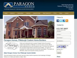 Paragon Custom Homes Builder