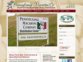 Pennsylvania Macaroni Company- Wholesale