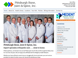 Pittsburgh Bone, Joint, and Spine