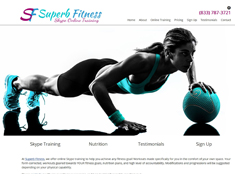 Superb Fitness Online Skype Training