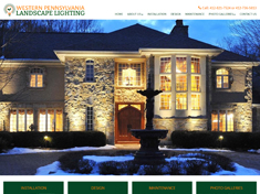 Western Pennsylvania Landscape Lighting